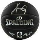 Kyrie Irving Brooklyn Nets Signed Black Spalding NBA Basketball Panini
