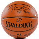 Kevin Durant Brooklyn Nets Signed Spalding Basketball 08 ROY Panini