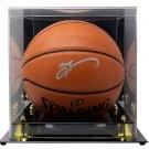 Allen Iverson Philadelphia 76ers Signed Spalding I/O Basketball JSA w/ Case