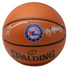 Allen Iverson Signed 76ers Spalding I/O Logo Basketball The Answer JSA ITP