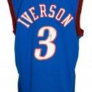 Allen Iverson Signed 76ers 1999-00 Blue M&N Swingman Jersey JSA ITP