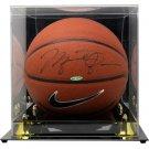 Michael Jordan Chicago Bulls Signed Nike Elite Basketball UDA UAS09742 w/ Case