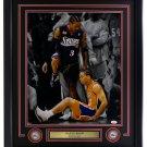 Allen Iverson Signed Framed 76ers 16x20 Step Over Spotlight Photo JSA