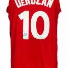 DeMar DeRozan Toronto Raptors Signed Red Nike Authentic Basketball Jersey JSA