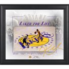 Kobe Bryant Framed 15x17 Los Angeles Lakers Final Game Collage