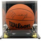 Michael Jordan Bulls Signed Wilson Jet Official Basketball JSA LOA w/ Case