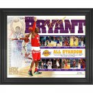 Kobe Bryant Los Angeles Lakers Framed 16x20 All Star Game Collage