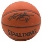 Kobe Bryant Los Angeles Lakers Signed Spalding NBA All Surface Basketball PSA