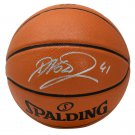 Dirk Nowitzki Dallas Mavericks Signed Spalding Replica Basketball Fanatics