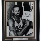 Wilt Chamberlain 76ers Signed Framed 16x20 100 Point Game Photo JSA LOA