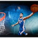Ben Simmons 76ers Signed Framed Break Through Limited Edition 52x40 Photo UDA