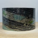 New York Central Park Map Cuff Bracelet. Vintage print cuff for her or him.