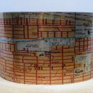 Billings Montana Map Cuff Bracelet by Enliven Natural