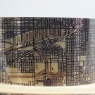 Chicago Illinois Map Cuff Bracelet by Enliven Natural