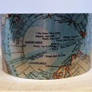 North Pole Map Cuff Bracelet by Enliven Natural