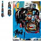 Necktie  Classic Art Jean-Michel Basquiat -superJumbo