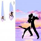 Necktie dance man and woman love lux