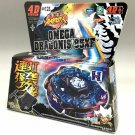 USA Seller - Omega Dragonis Metal Fury 4D Beyblade Limited Edition + Launcher