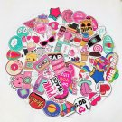 60 Pcs Cute Girl Pink Hydro Flask & Case Laptop Vsco Stickers Instagram Decal