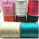 Cotton Cord Waxed Thread Cord String Strap Jewelry Making for Bracelet 1.5mm