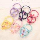 Child Hair Rubber Bands Hair Accessories Fashion Cute Elastics Hair Rope 12Pcs