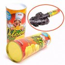 Tricky Potato Chips Bouncing Snake Funny Toy Fool's Day Gifts For Men women