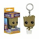 FUNKO POP Keychain Marvel Stranger Things Dancing Groot Game of Thrones With Box