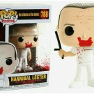 Funko POP Movies Silence of Lambs Hannibal Bloody With BoxShip From USA