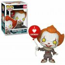 Funko POP Movies IT Chapter 2 Pennywise w/ Balloon With Box Ship From USA