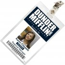 New Product The Office KAREN FILIPPELLI Dunder Mifflin ID Badge Costume Name Tag TO-16