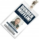 New Product The Office Creed Bratton Mifflin ID Badge Cosplay Costume Name Tag TO-14