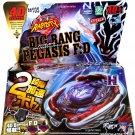 Big Bang Cosmic Pegasus / Pegasis Metal Fury Masters USA Beyblade Set w Launcher NIP