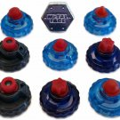 USA Beyblade Special RUBBER Tips Pack Lot Set Parts + METAL FACE Bolt - Ship From USA!