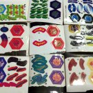 Randomized Set Lot Pack of 9 USA Beyblade STICKERS Parts - Ship From USA!