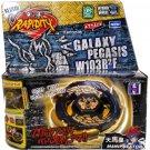 Gold Black Hole Sun Galaxy Pegasus / Pegasis USA Beyblade NIP + Launcher - US SELLER