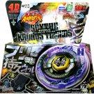 Scythe Kronos Metal Fusion Fury Masters USA Beyblade Set w Launcher NIP - Ship From USA
