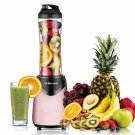 Maheswara Store USA Portable Blender Sports Pink Color 300 Watt with 18 oz BPA Free Bottle Smoothies