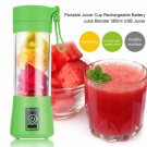 Maheswara Store USA Portable Blender USB Juicer Cup Fruit Mixing Machine Rechargeable Bottle 380ML G