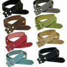 """Suede Casual Belt With Silver Floral Cutout Buckle, 1 1/2"""" - Wide Size 44 Lime"""