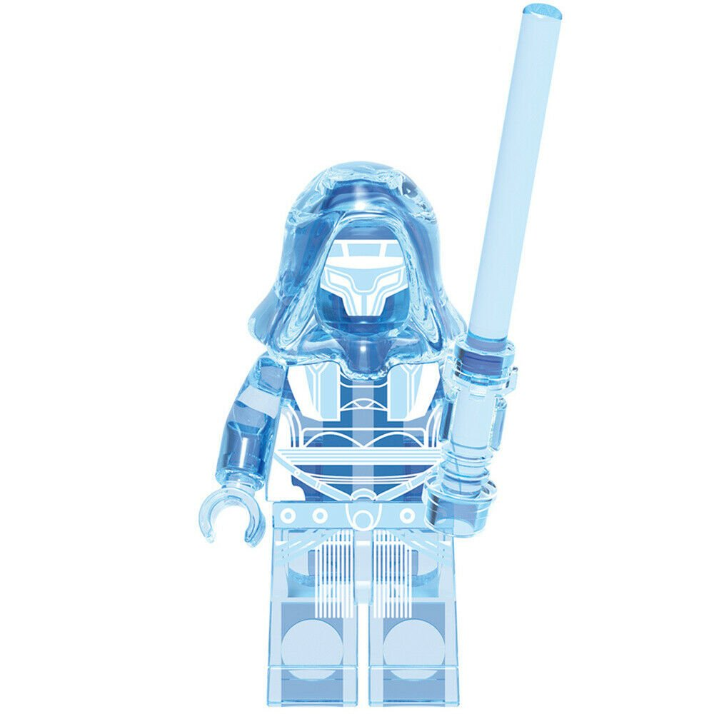 New Hologram Darth Revan Star Wars Minifigure Toy Collectible