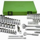 """SK HAND TOOL 62 Piece Metric Super Set 1/4""""and 3/8"""" Drive SK94562"""