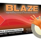 MICROFLEX Blaze- Medium Orange NitrileGloves MXN48-M