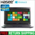 Hasee Windows 8 Laptop 14 Inch HD LED Intel Core i7-3630QM 8GB RAM 500GB HDD