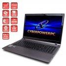 CyberpowerPC Gamer Xplorer GX9840 15.6-Inch Laptop 8GB DIMM, 750GB Hard Drive Windows 10 Home