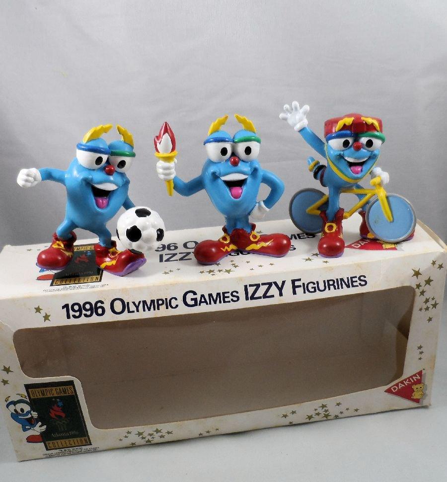 1996 Atlanta Olympics Series One Izzy Figures with Box