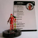 HEROCLIX Marvel ELEKTRA Figure 003 AVENGERS BIZARRE ADVENTURES card included