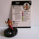HEROCLIX Marvel NAKIA Figure 008 AVENGERS card included