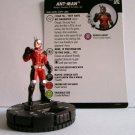 HEROCLIX Marvel The Astonishing ANT-MAN Figure 011 AVENGERS card included