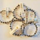 TRRTLZ DRAGONZ lot of 5 bracelets CHARCOAL GREY COLOR