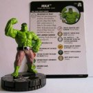 HEROCLIX Marvel The new Incredible HULK  Figure 014 AVENGERS card included